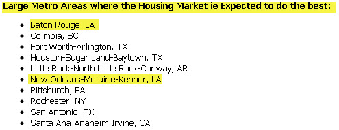 baton rouge real estate expected to do best in 2010