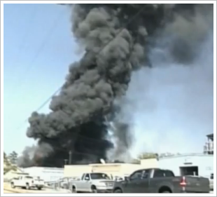 denham springs chemical warehouse fire
