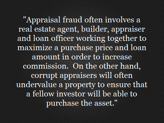 appraisal fraud warning
