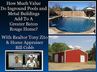 baton rouge real estate tony zito and bill cobb talk pools and metal buildings