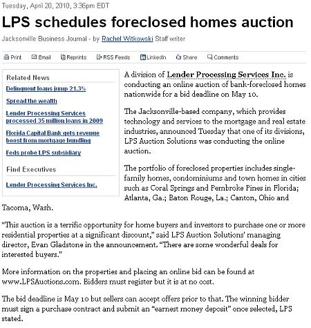 lps schedules baton rouge foreclosure auction