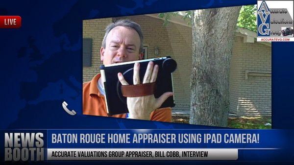 ipad appraising homes with an iPad