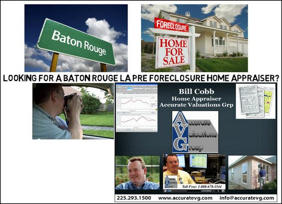 Pre Foreclosure Real Estate Home Appraiser Baton Rouge Louisiana