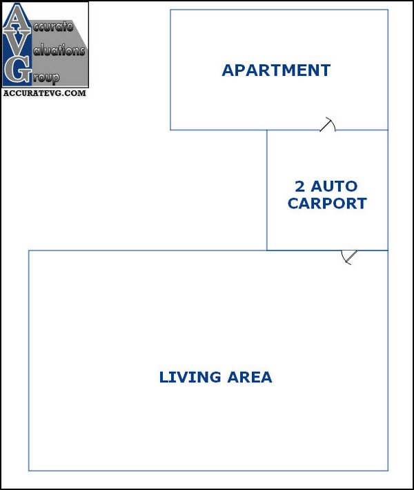why apartment is not living area square footage