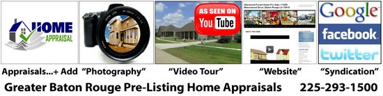 Pre Listing Home Appraisals Baton Rouge