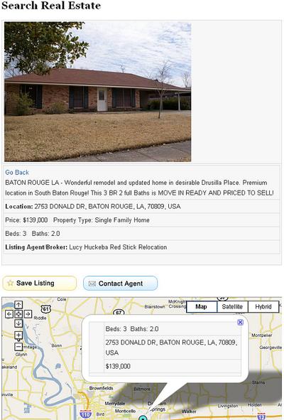 baton rouge real estate search