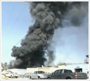 denham springs chemical warehouse fire
