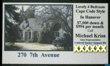 real estate business card 1