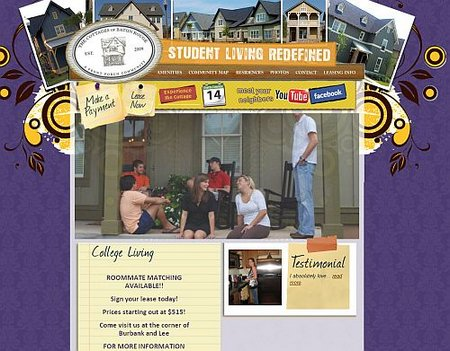 the cottages of baton rouge lsu student housing life