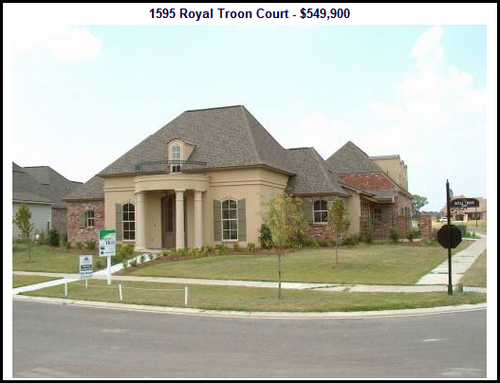 baton rouge high-end housing