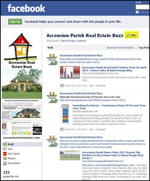 ascension-parish-real-estate-buzz-on-facebook