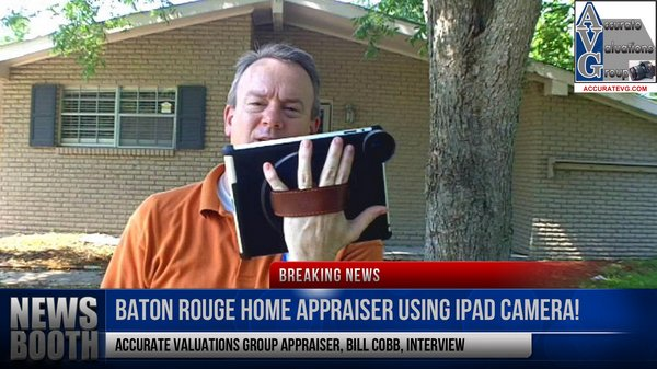 baton rouge mobile appraising via ipad bill cobb appraiser