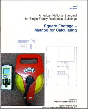ANSI Standards For Home Measuring