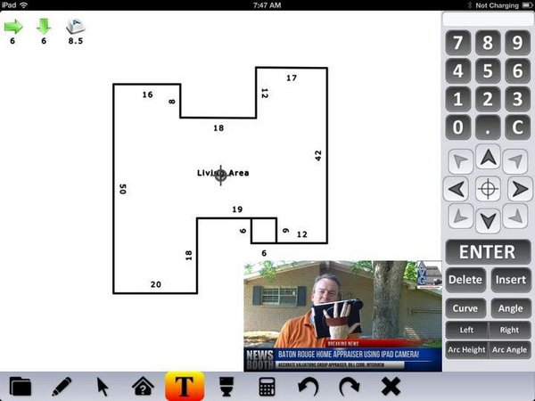 ipad home measuring