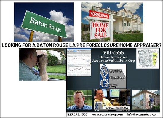 Pre Foreclosure Real Estate Home Appraiser Baton Rouge Louisiana