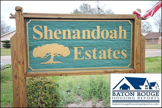 Shenandoah Estates Entrance Signs Baton Rouge 2012