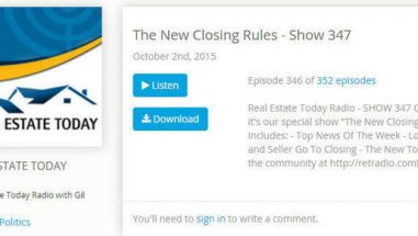 new closing rules