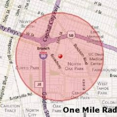 appraisal comps one mile radius
